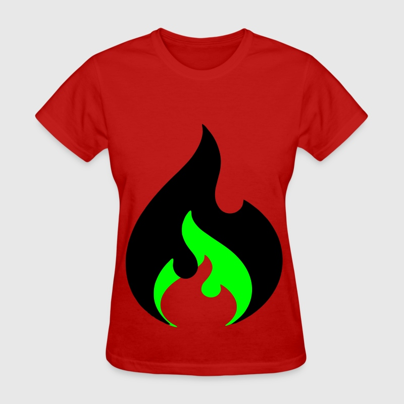 Double Ignite Flame Women's T-Shirts - Women's T-Shirt