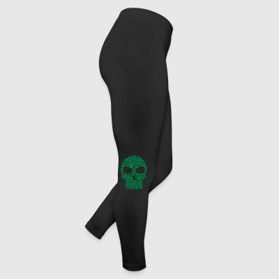 Shamrock skull Women's T-Shirts - Leggings