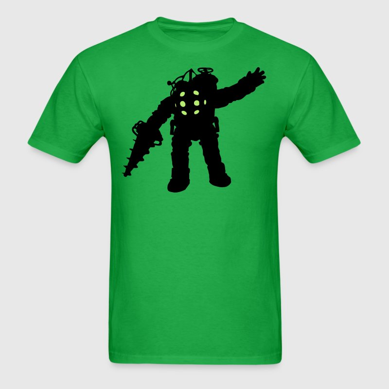 Big Daddy Waving Silhouette T-Shirts - Men's T-Shirt