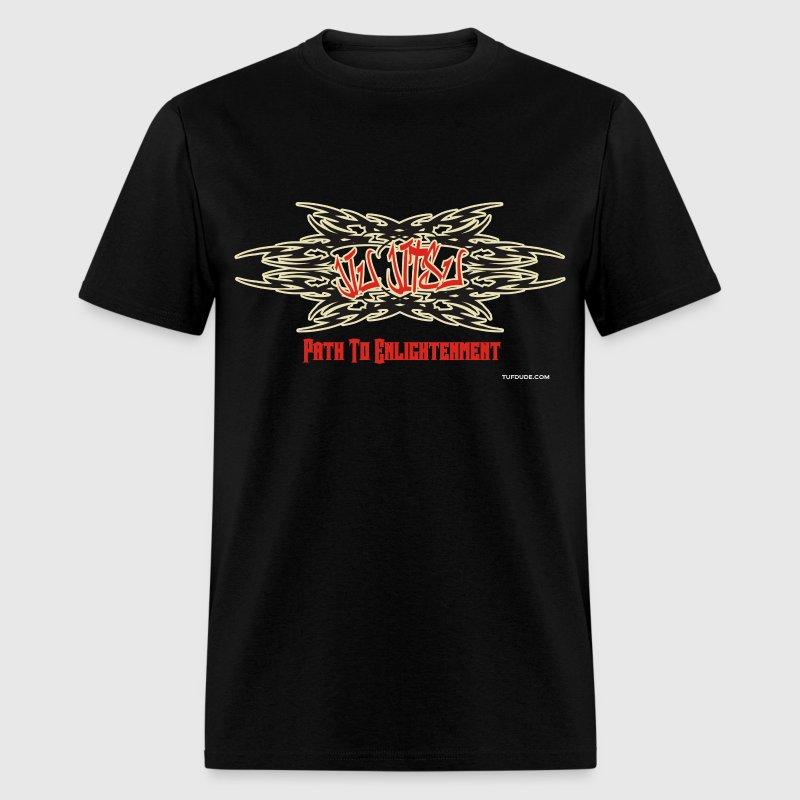 Path To Enlightenment: Jiu_jitsu__path_to_enlightenment__graffiti_004 T-Shirt