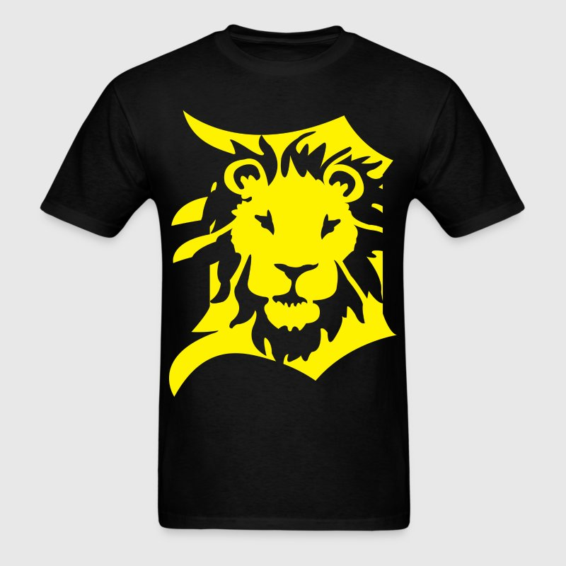 DETROIT LIONS yellow T-Shirts - Men's T-Shirt