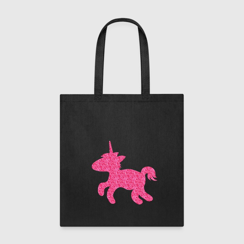 glittering cute unicorn Bags & backpacks - Tote Bag