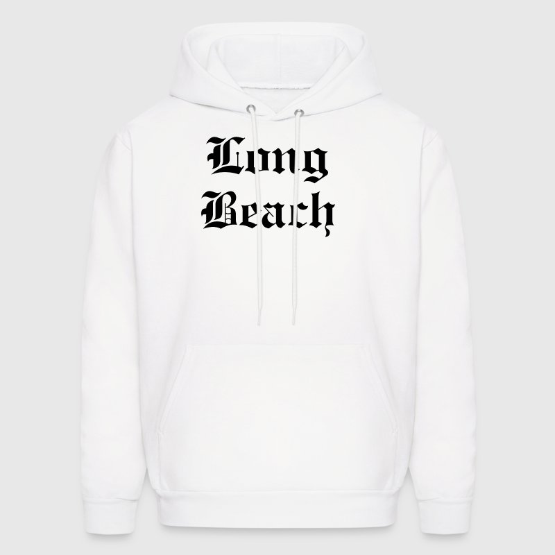 Long Beach CA. Hoodies - Men's Hoodie