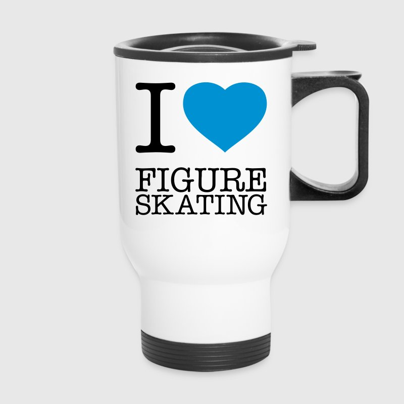 I LOVE FIGURE SKATING - Travel Mug