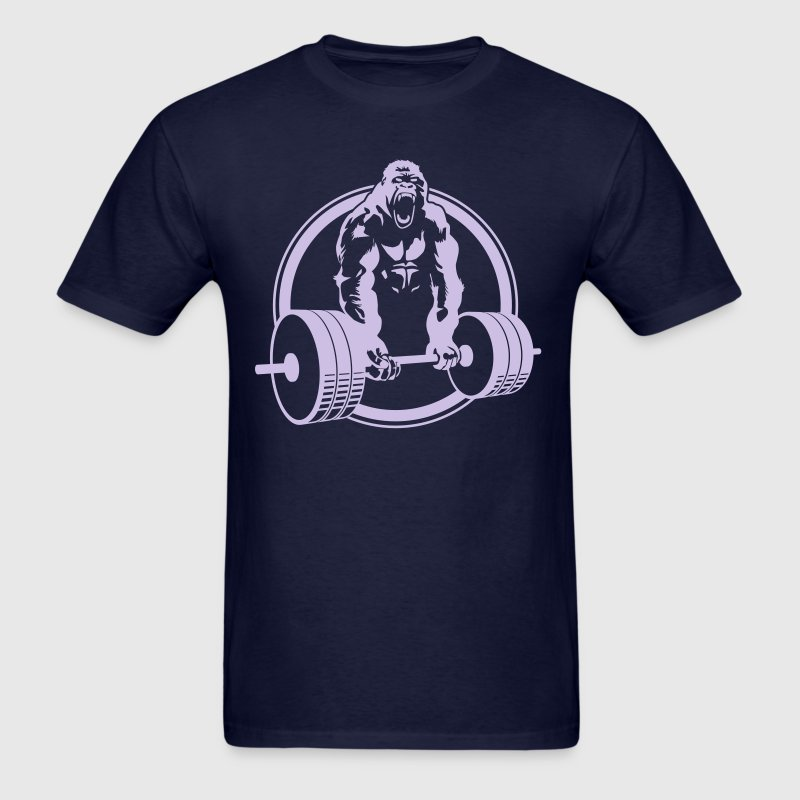 Gorilla lifting fitness t shirt spreadshirt Gymnastics t shirt designs