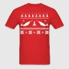 Ugly Narwhal Christmas Sweater T-Shirts - Men's T-Shirt