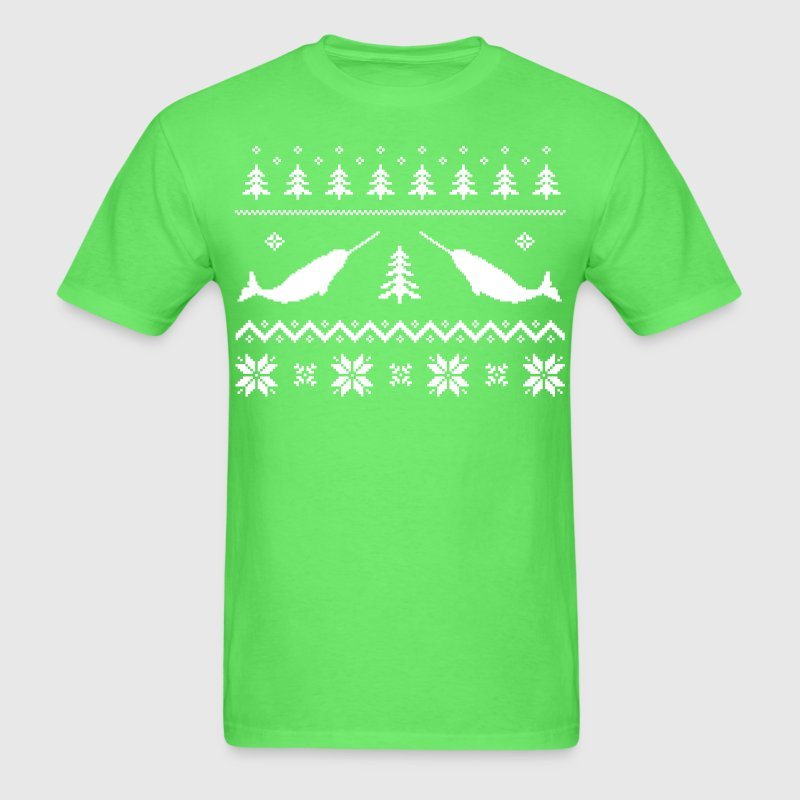 Ugly Narwhal Christmas Sweater T-Shirt | Spreadshirt