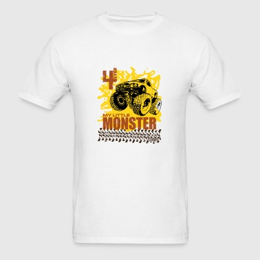 4 Ever My Little Moster Truck Shirt Bottles & Mugs - Men's T-Shirt