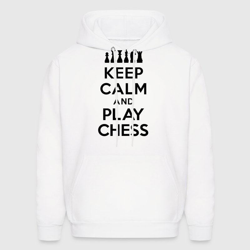 Keep calm and play Chess Hoodies - Men's Hoodie