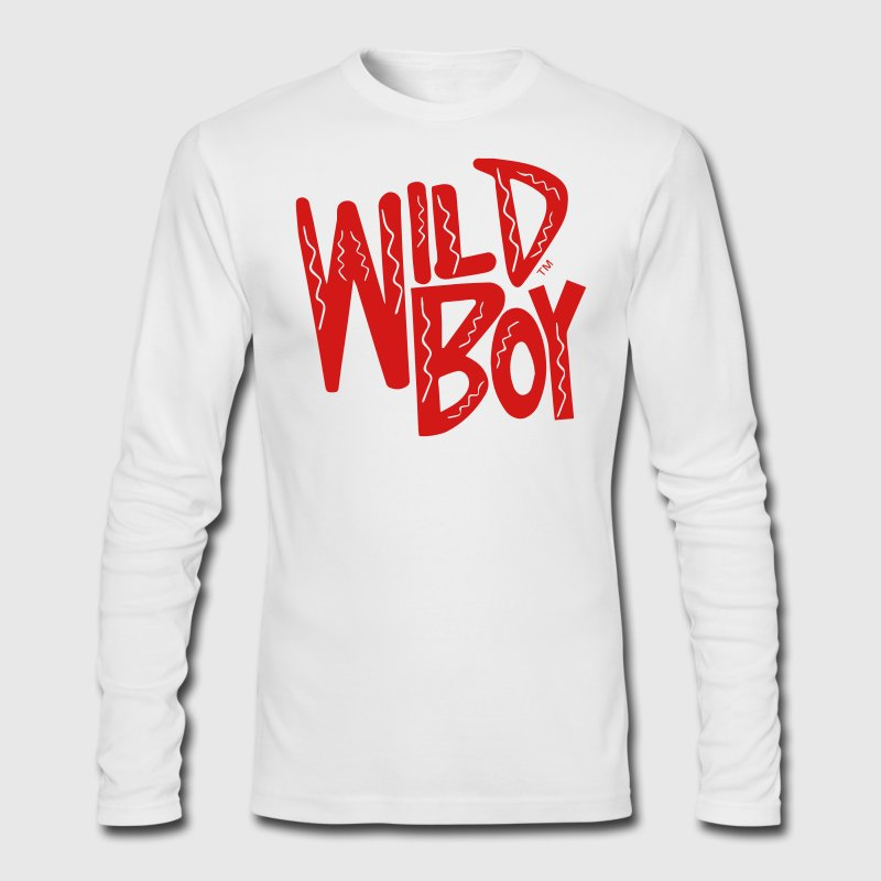 WILD BOY Long Sleeve Shirts - Men's Long Sleeve T-Shirt by Next Level