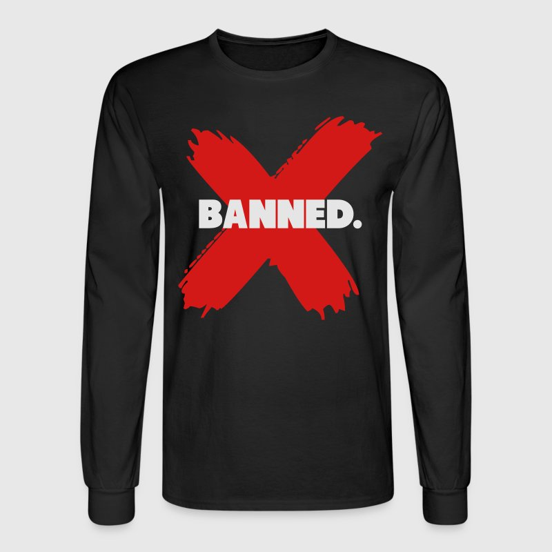 Banned Retro 1 Jordan Shirt Long Sleeve Shirts - Men's Long Sleeve T-Shirt