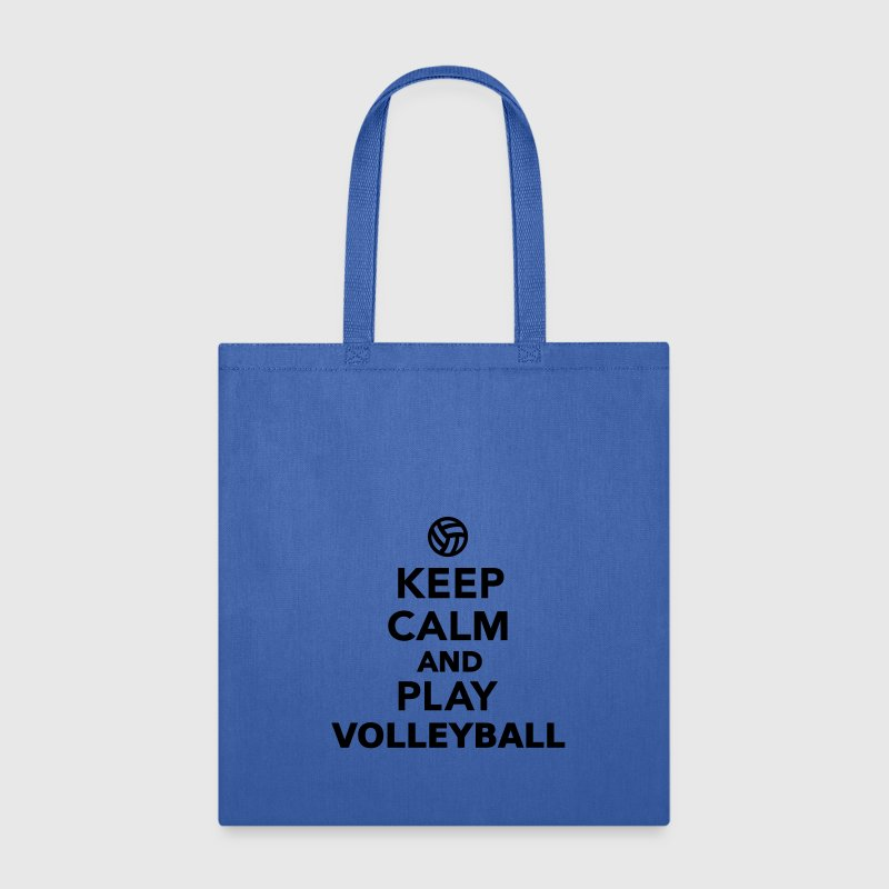 Keep calm and play Volleyball Bags & backpacks - Tote Bag