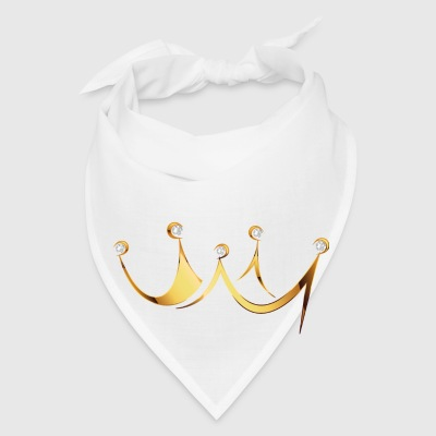crown with diamonds - Bandana
