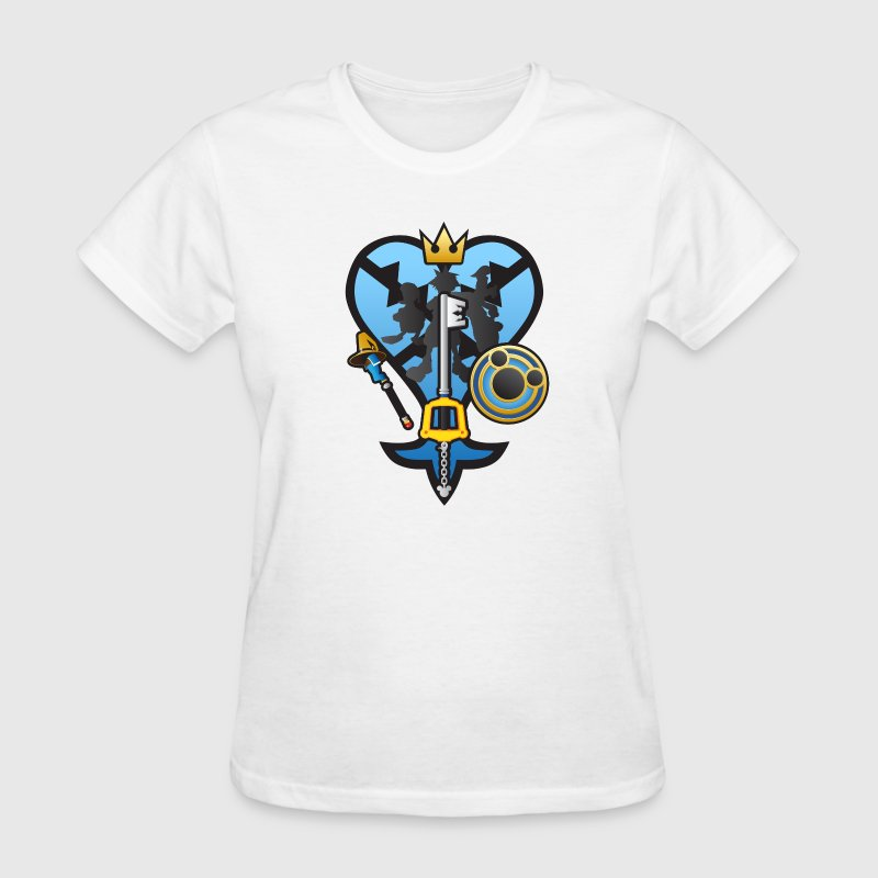 (Kingdom Hearts) All for One and One for All Women's T-Shirts - Women's T-Shirt
