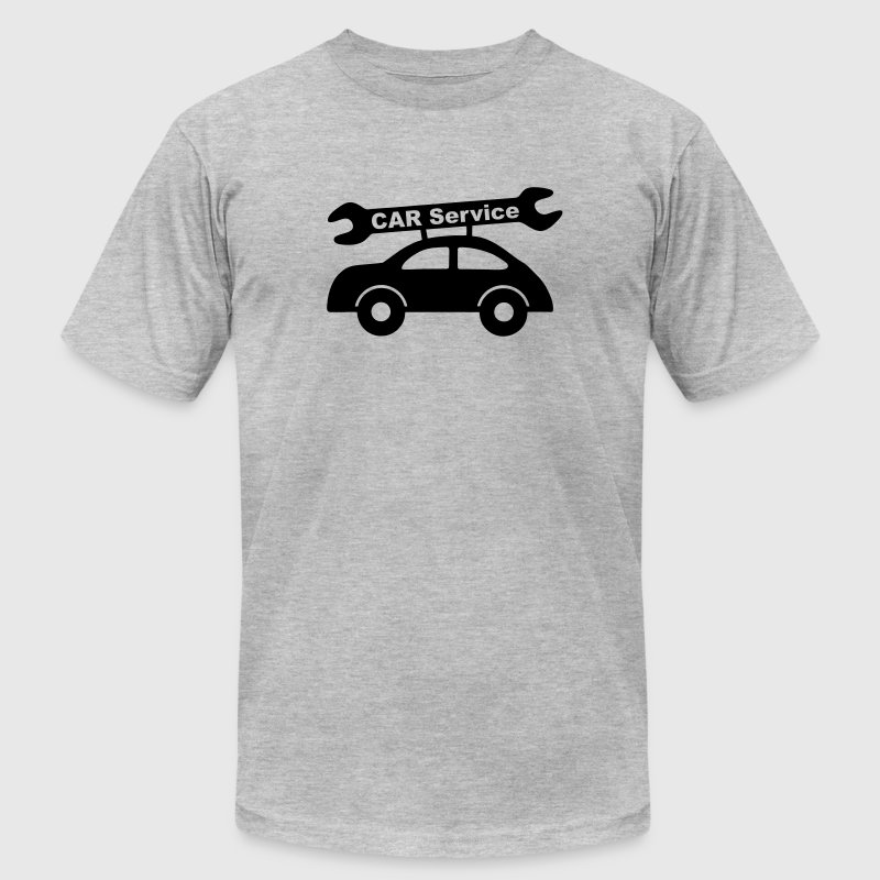 Car service - auto T-Shirts - Men's T-Shirt by American Apparel