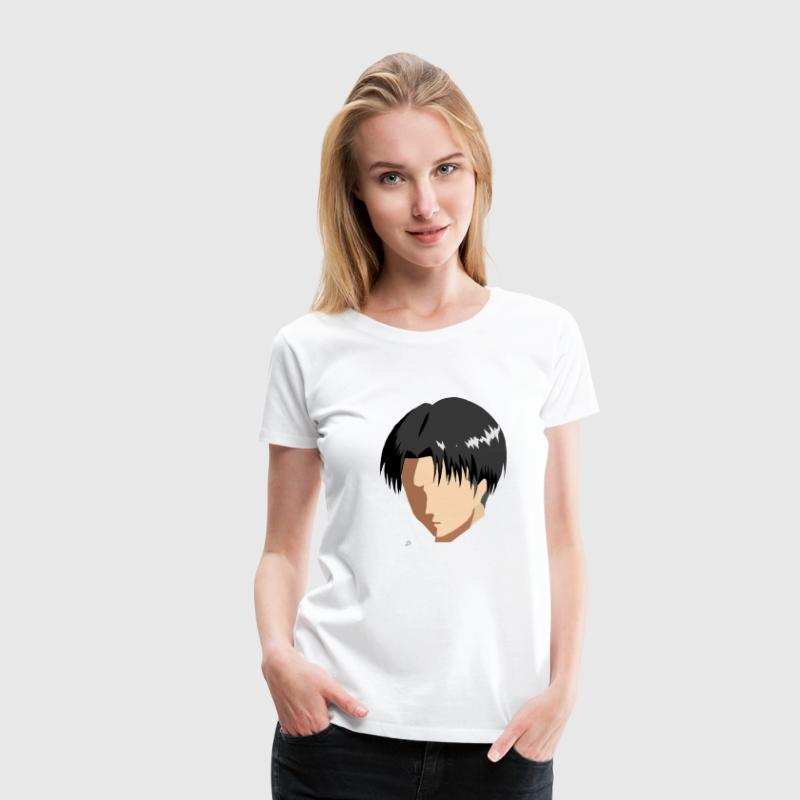 Attack on Titan: Levi Women's T-Shirts - Women's Premium T-Shirt