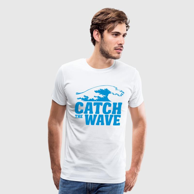 catch the wave T-Shirts - Men's Premium T-Shirt