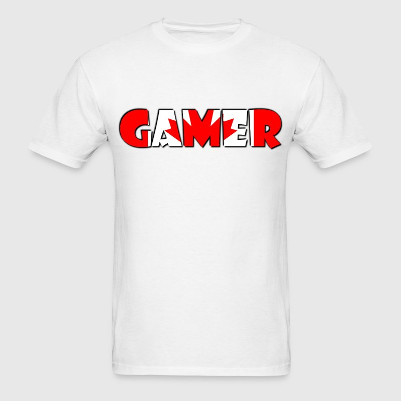 Canada Gamer T-Shirts - Men's T-Shirt