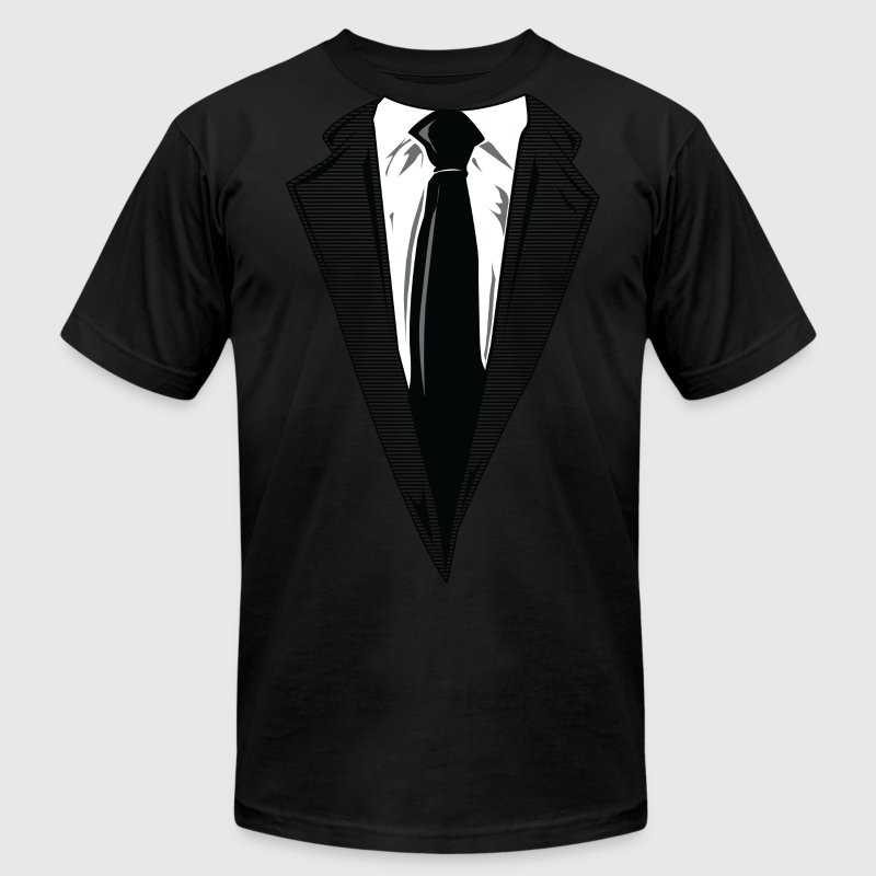 Coat and Tie and Suit and Tie t-shirts T-Shirts - Men's Fine Jersey T-Shirt