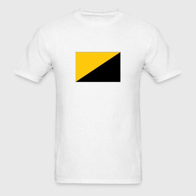 anarcho-capitalist flag - Men's T-Shirt