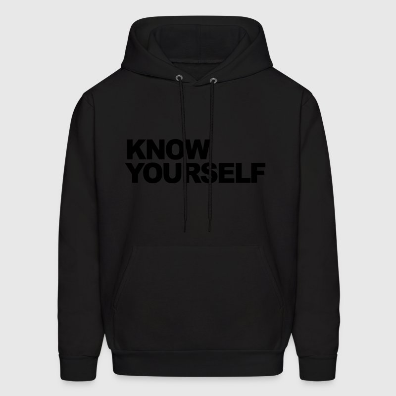 Know Yourself Hoodies - Men's Hoodie