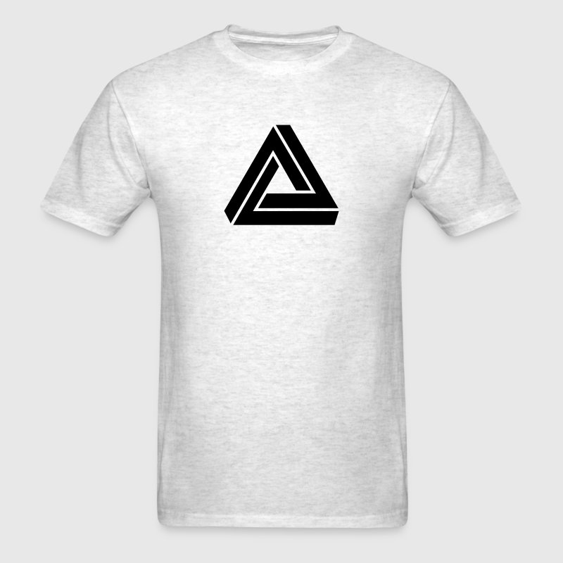 Triangle mathematical Escher endless knot infinity T-Shirts - Men's T-Shirt