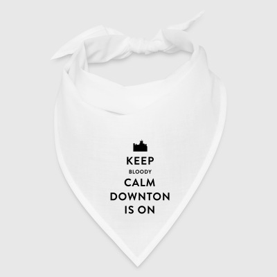 Keep Bloody Calm Downton Is On Coffee Mug - Bandana