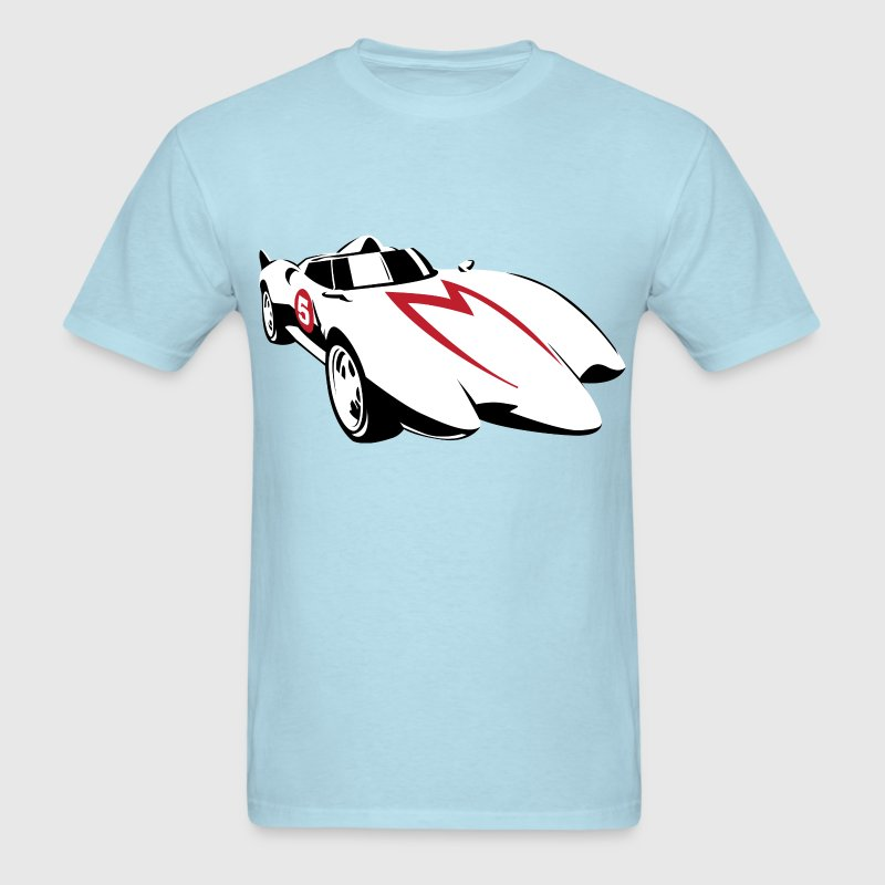 SKYF-01-031 speedracer machgogogo T-Shirts - Men's T-Shirt