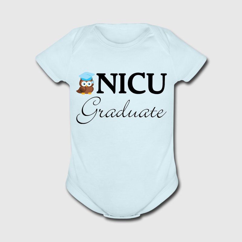 NICU Graduate Baby boy Baby & Toddler Shirts - Short Sleeve Baby Bodysuit