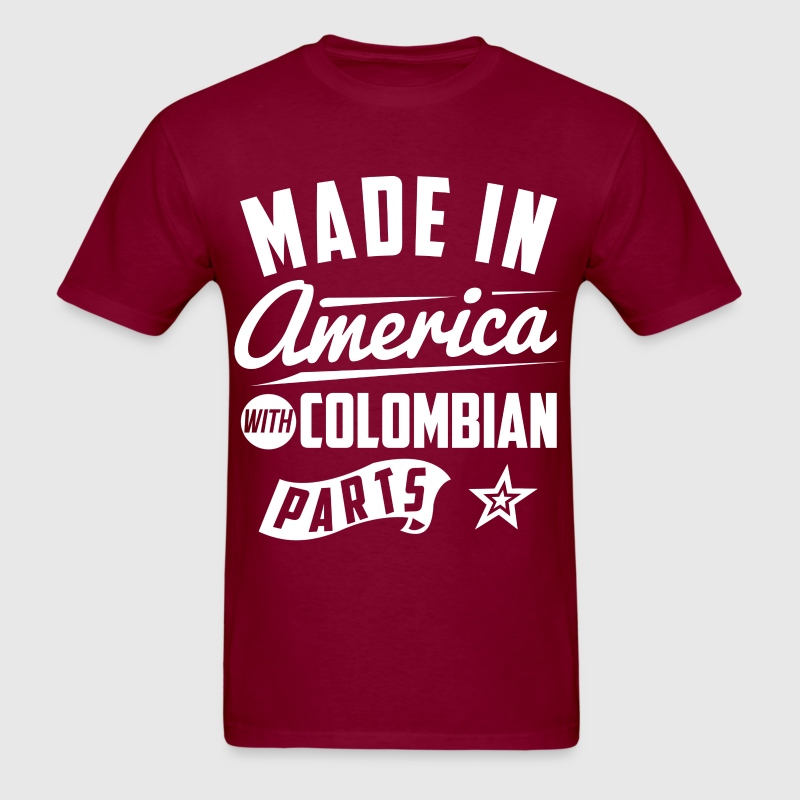 American Colombian T-Shirts - Men's T-Shirt