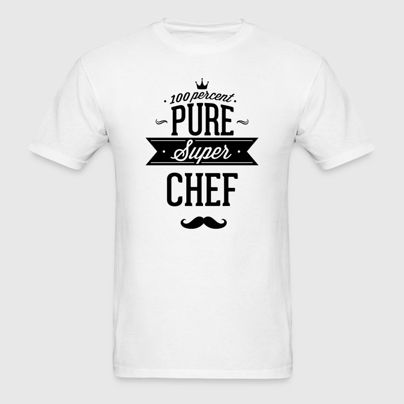 100 percent pure super chef T-Shirts - Men's T-Shirt