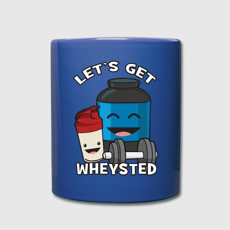 Let's Get Wheysted Mugs & Drinkware - Full Color Mug
