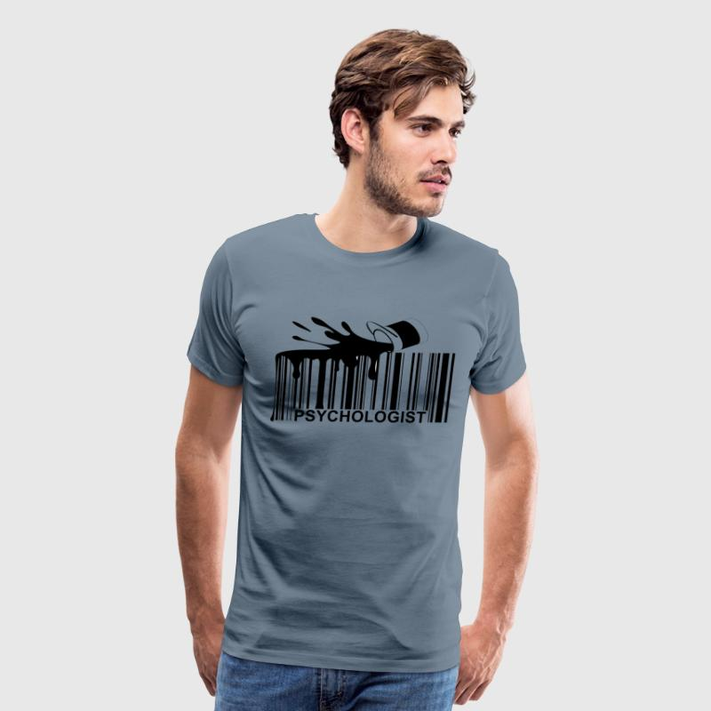 psychologist_barcode_ - Men's Premium T-Shirt