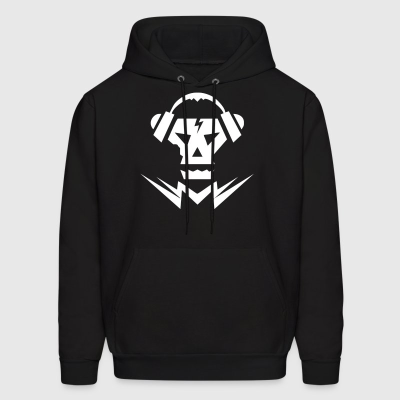 Dubstep music logo skull hoodie spreadshirt dubstep music logo skull mens hoodie thecheapjerseys Choice Image