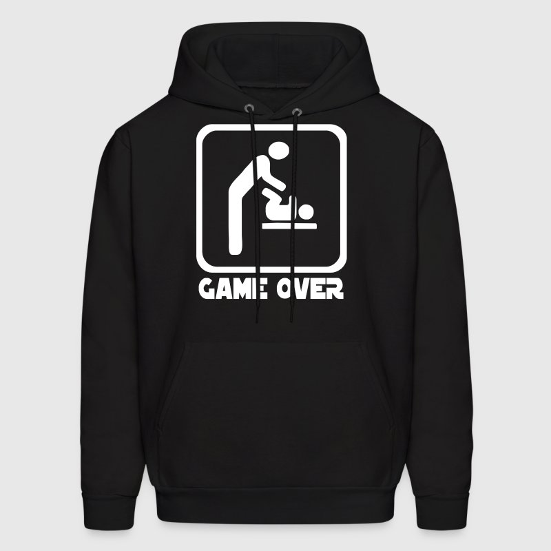 Game Over Daddy Funny - Men's Hoodie