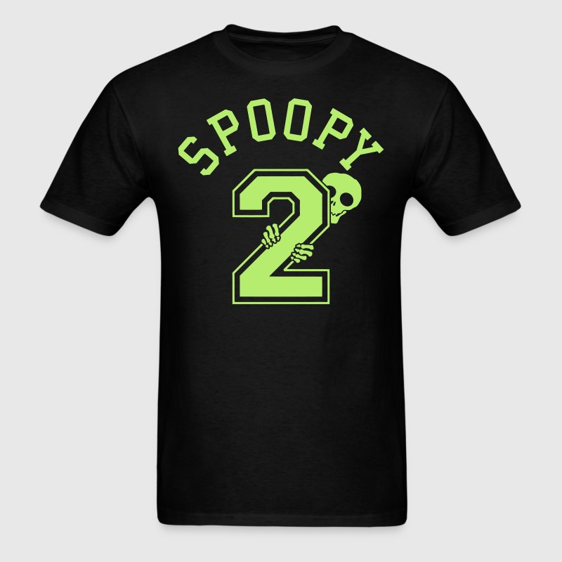 Halloween 2 Spoopy Sporty T-Shirts - Men's T-Shirt
