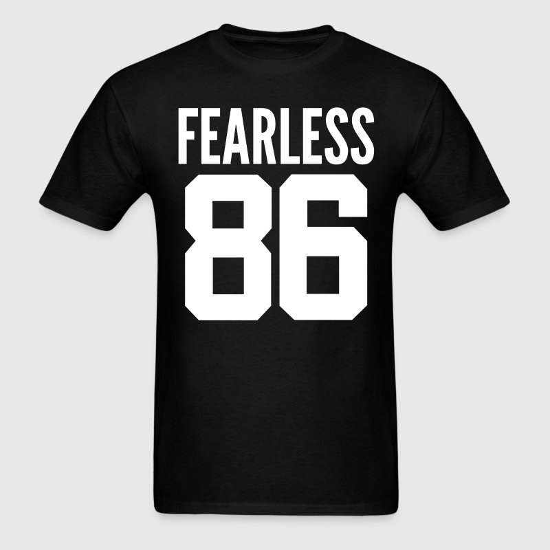 Fearless 1986 30th Birthday 30 Years Old Varsity T-Shirts - Men's T-Shirt