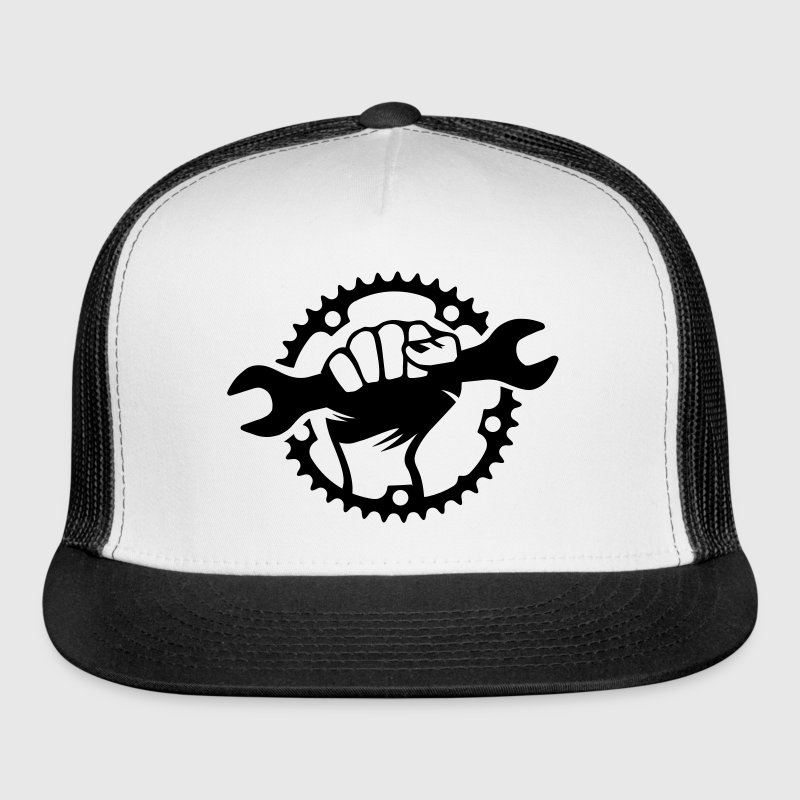 Bike Hero chainring bicycle bike cycling spanner Sportswear - Trucker Cap