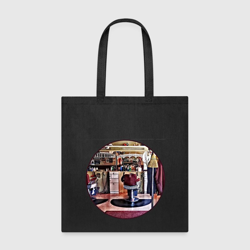 Barbershop With Coat Rack Bags & backpacks - Tote Bag