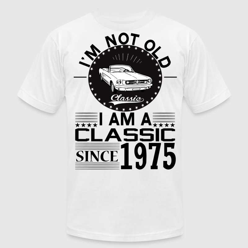 Classic since 1975 T-Shirts - Men's T-Shirt by American Apparel