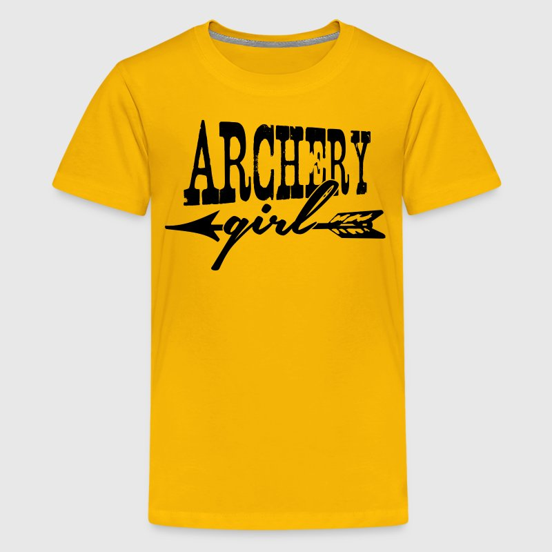 Archery Girl Shirt - Kids' Premium T-Shirt