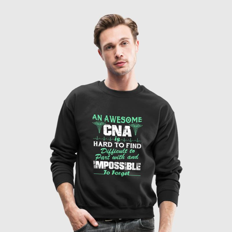 Awesome CNA Shirt - Crewneck Sweatshirt