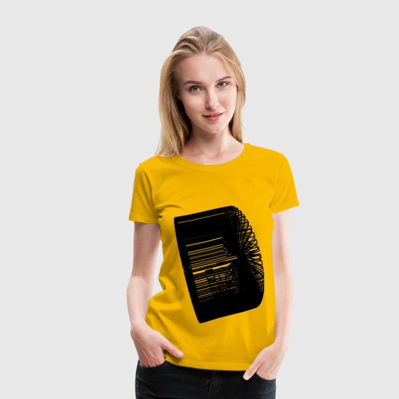Rotating 3D smartphone [animation] - Women's Premium T-Shirt