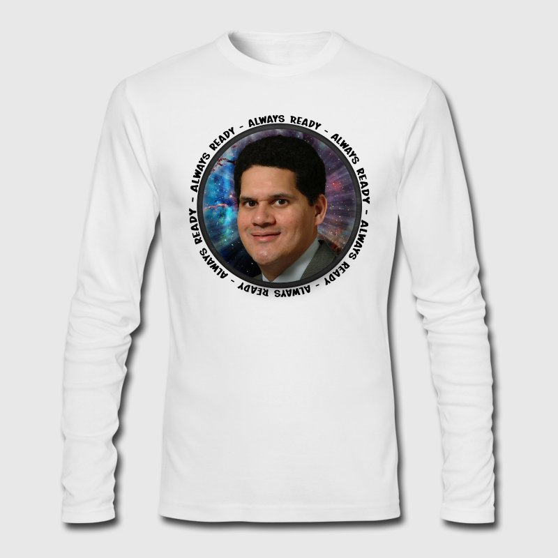 Always Ready - Reggie Fils-Aime - Men's Long Sleeve T-Shirt by Next Level