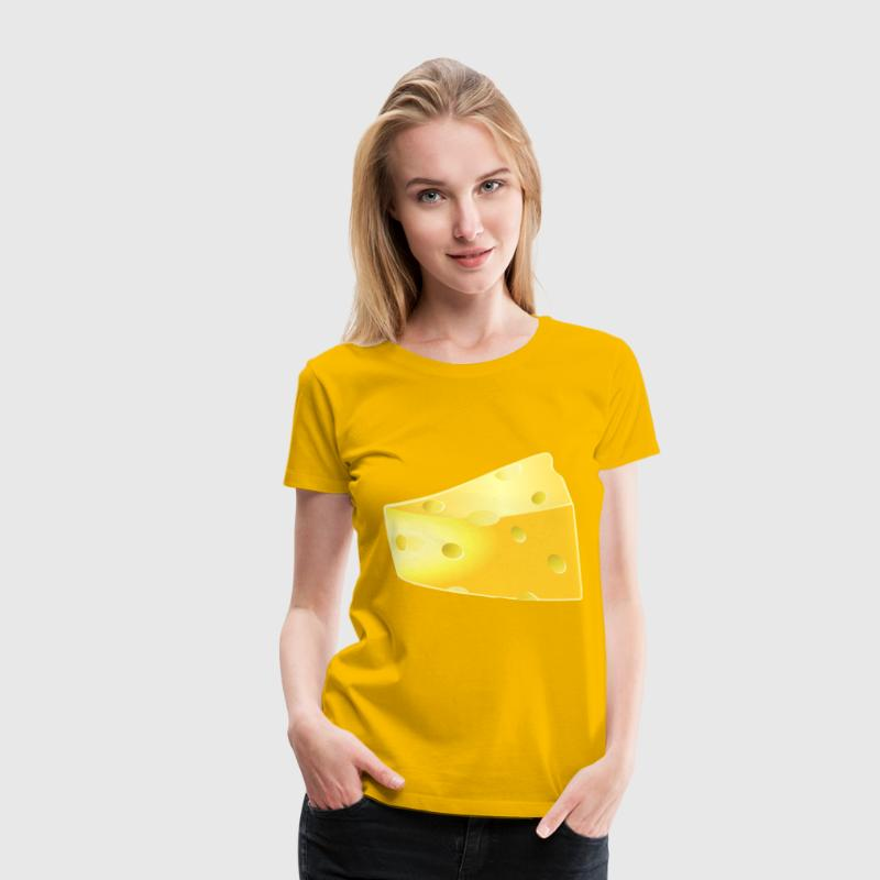 Swiss Cheese - Women's Premium T-Shirt