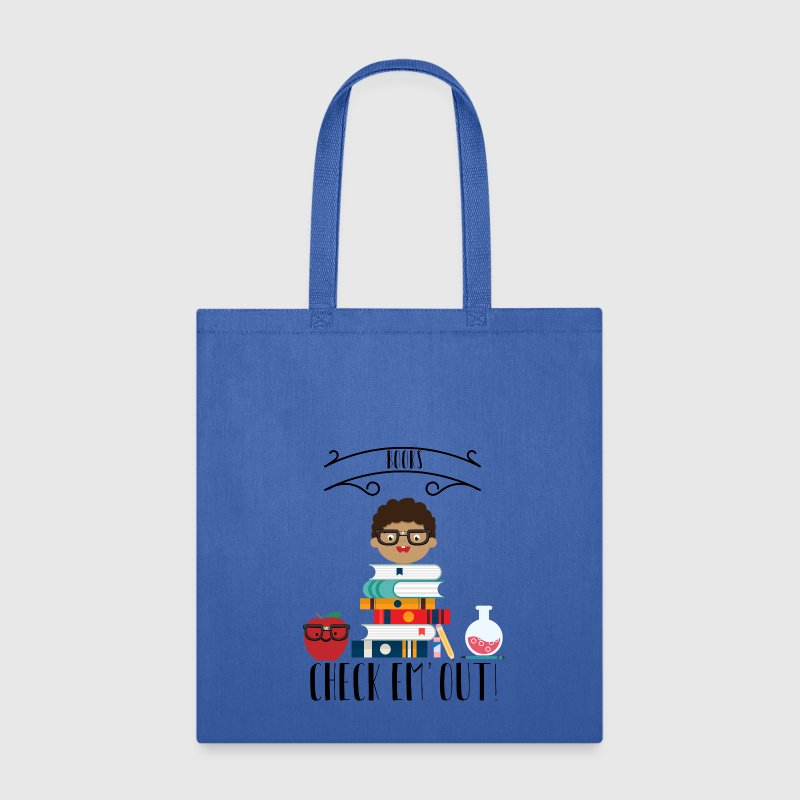Books Check Em Out Bags & backpacks - Tote Bag