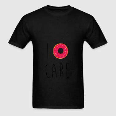 I Donut Care Funny Quote Bags & backpacks - Men's T-Shirt
