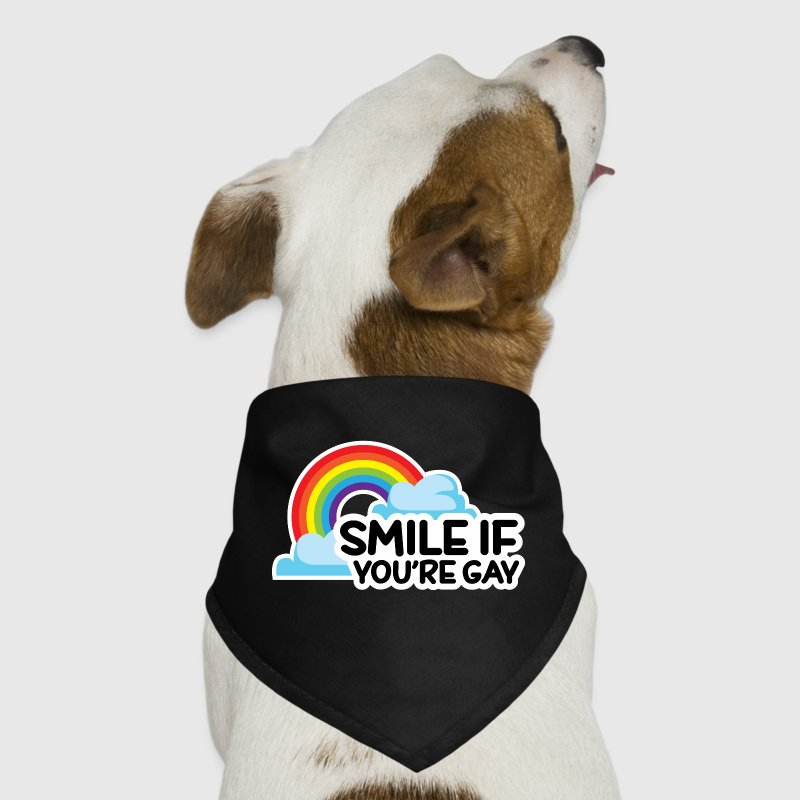 Smile If You're Gay LGBT Pride Other - Dog Bandana
