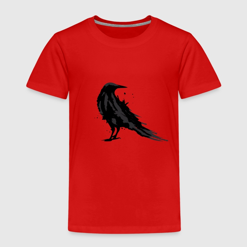 A black raven Baby & Toddler Shirts - Toddler Premium T-Shirt