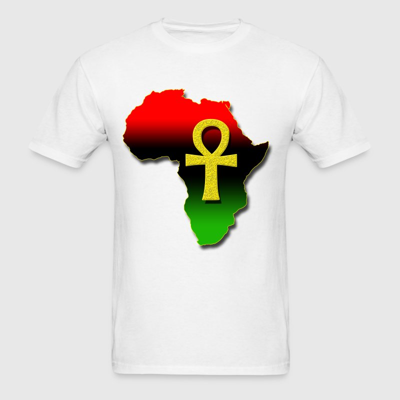 Africa and ANKH.png T-Shirts - Men's T-Shirt